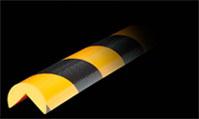 защита стен и углов черно желтая
