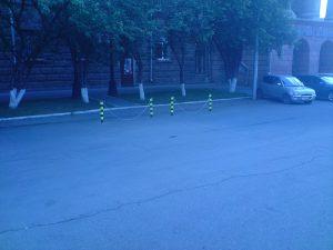 столбики парковочные в красноярске